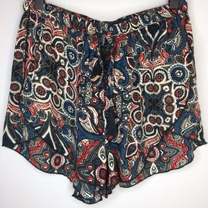 ABERCROMBIE & FITCH Print Layered Shorts